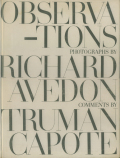 Richard Avedon, Truman Capote: Obaervations