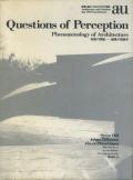 Questions of Perception �γФ����� ���ۤθ��ݳ�