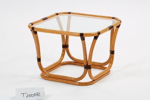籐・ラタンの昭和の名作デザインを復刻したテーブル