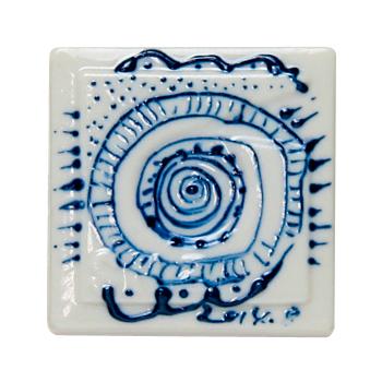 デコライナー(陶芸用盛り絵具) ブルー