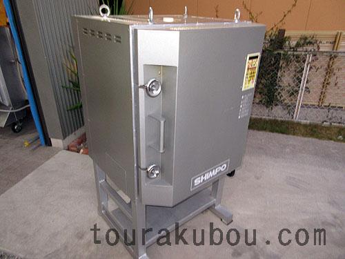 【中古】日本電産シンポ 電気窯『DFA-06』 2006年製 200V単相 ※還元バーナー付<商談中>