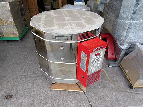 【中古】(ARTFACTORY)スカットキルン 200V単相 KM-1018-3 +排気ベント