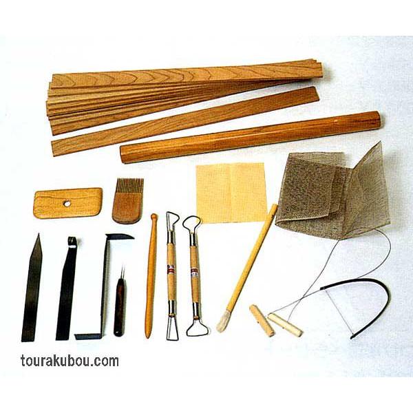 たたら成形小道具セット(16種組)