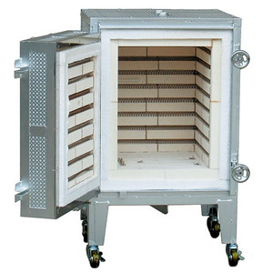 電気陶芸窯 SN-8LT・DP型(横扉式・電子式地震安全装置内蔵プロコン)