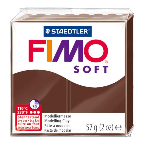 オーブンクレイフィモソフト単色56g チョコレート(75)