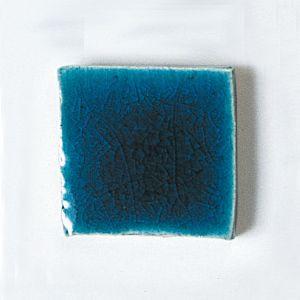 楽焼き色釉薬A(無鉛) 青