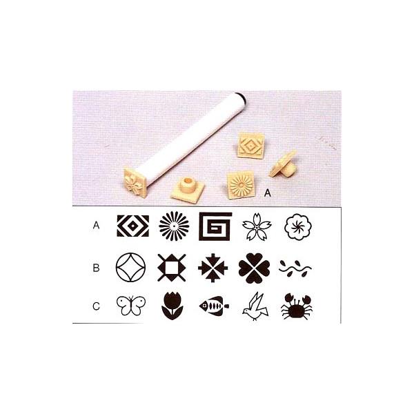 スタンプ用印花セット 5種1組