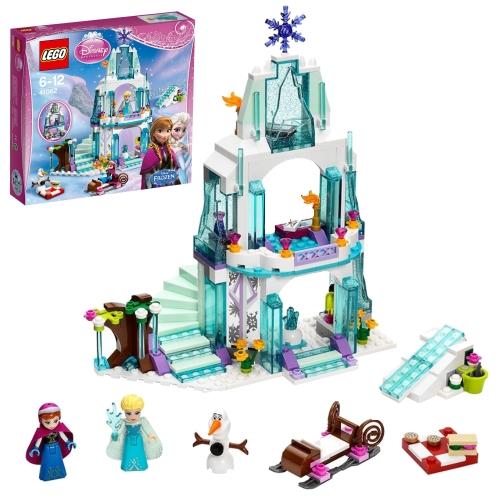 レゴ ディズニー プリンセス 41062 エルサのアイスキャッスル 高知能児を育てる 遊び 勉強 学び おもちゃ 通販 販売