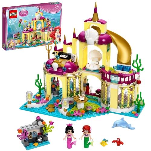 レゴ ディズニープリンセス 41063 アリエルの海の宮殿 高知能児を育てる 遊び 勉強 学び おもちゃ 通販 販売