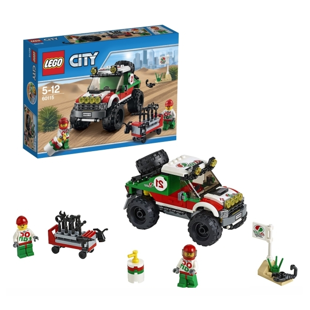 レゴ シティ 4WDオフロードカー 60115