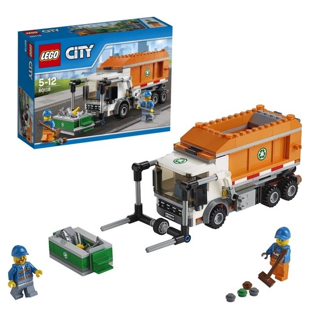 レゴ シティ ゴミ収集車 60118