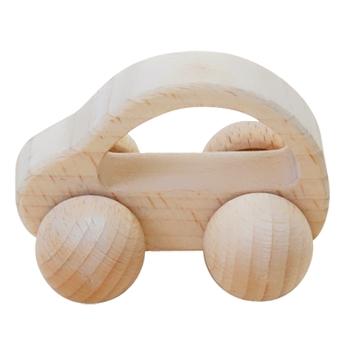 【おもちゃのジャンボ】 木のおもちゃ 赤ちゃんの木製玩具 ころころくるま ファーストトイ 通販 販売