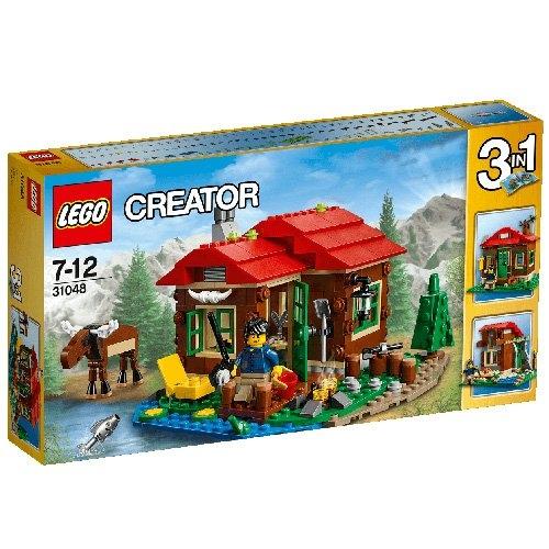 レゴ クリエイター 湖岸のロッジ  31048