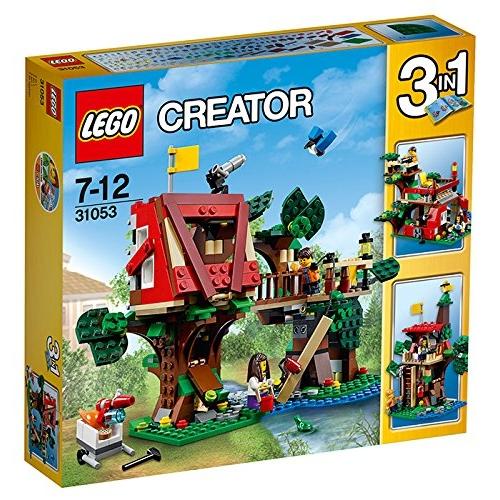 レゴ クリエイター ツリーハウスアドベンチャー 31053