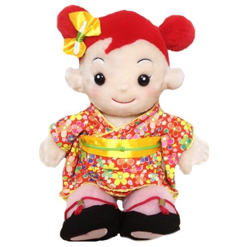 【おもちゃのジャンボ】 おめかしセレクション29 「お着物セット(女の子)」 プリモプエル 服 おしゃべり人形 通販 販売