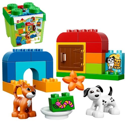 レゴ ブロック デュプロ みどりのコンテナ 10570 高知能児を育てる 遊び 勉強 学び おもちゃ 通販 販売