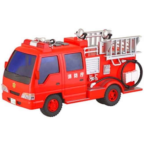 サウンドポンプ 消防車 (リアルサウンド フリクション) 働く 車 おもちゃ 通販 販売