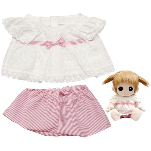【おもちゃのジャンボ】 夢の子コレクション38 白レースチュニック お洋服 ユメル ネルル ミルル 通販 販売