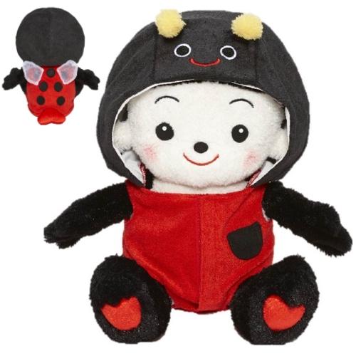 【おもちゃのジャンボ】 おめかしセレクション27 「テントウムシぐるみ」 てんとうむし プリモプエル 服 おしゃべり人形 通販 販売