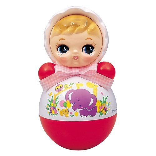 おきあがりポロンちゃん 30cm (おきあがりこぼし) 赤ちゃんが安らぐ音色でロングセラー!