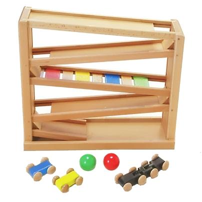 【おもちゃのジャンボ】 木のおもちゃ 吊橋ミニコースター 木製玩具 通販 販売