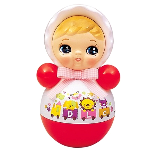 おきあがりポロンちゃん 25cm (おきあがりこぼし) 赤ちゃんが安らぐ音色でロングセラー!通販 販売