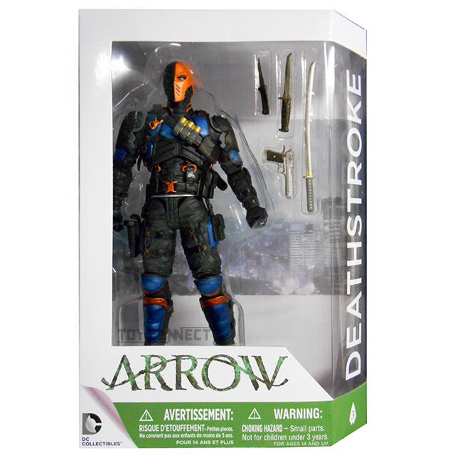 DCコレクティブルズ ARROW アロー アクションフィギュア デスストローク
