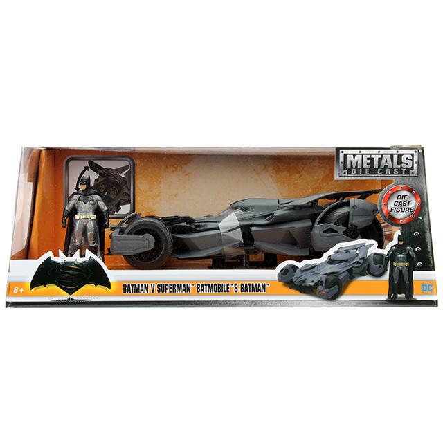 バットマンvsスーパーマン/ジャスティスの誕生 メタルズ 1/24 スケール ダイキャストビークル バットモービル &バットマン