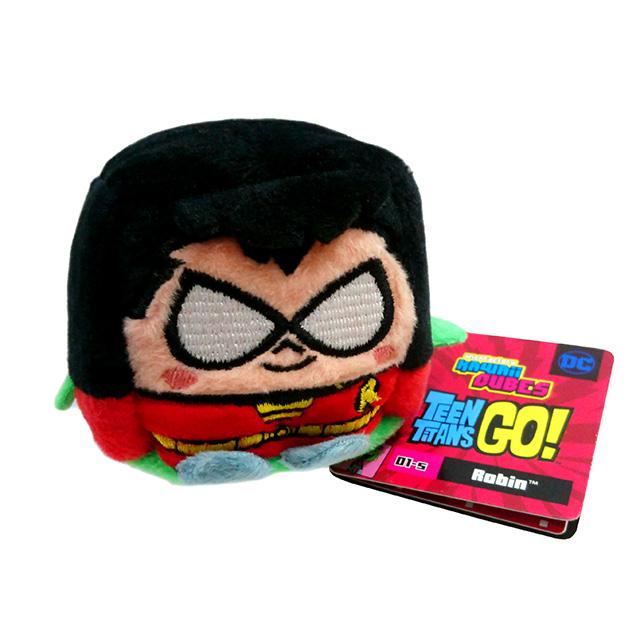 DCコミックス ティーンタイタンズ Go! カワイイキューブス スモールサイズ プラッシュ ぬいぐるみ (S) ロビン