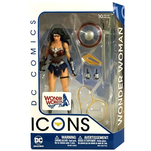 DCコレクティブルズ DCコミックス アイコンズ 6インチ アクションフィギュア ワンダーウーマン (ジャスティスリーグ:アマゾン・ウイルス)