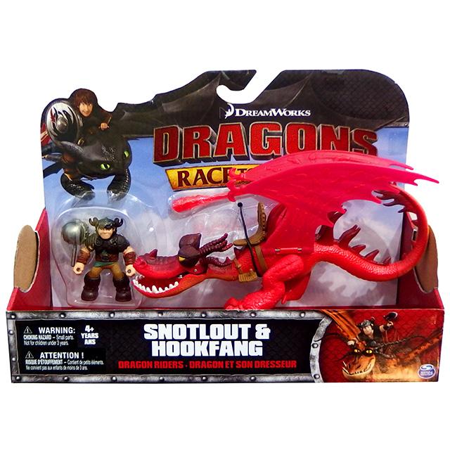 ヒックとドラゴン / 新たな世界へ! ドラゴンライダース フィギュアセット スノット & フックファング