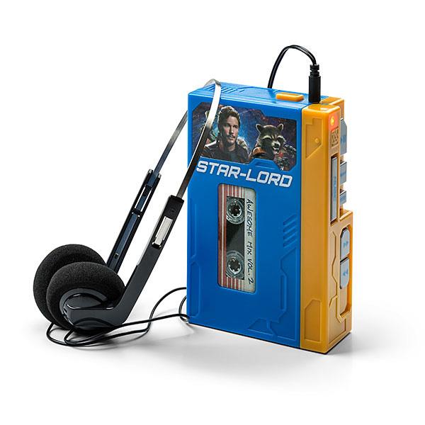 ガーディアンズ・オブ・ギャラクシー:リミックス MP3 ブームボックス レコーダブル プレーヤー スターロード's ウォークマン with ヘッドフォン