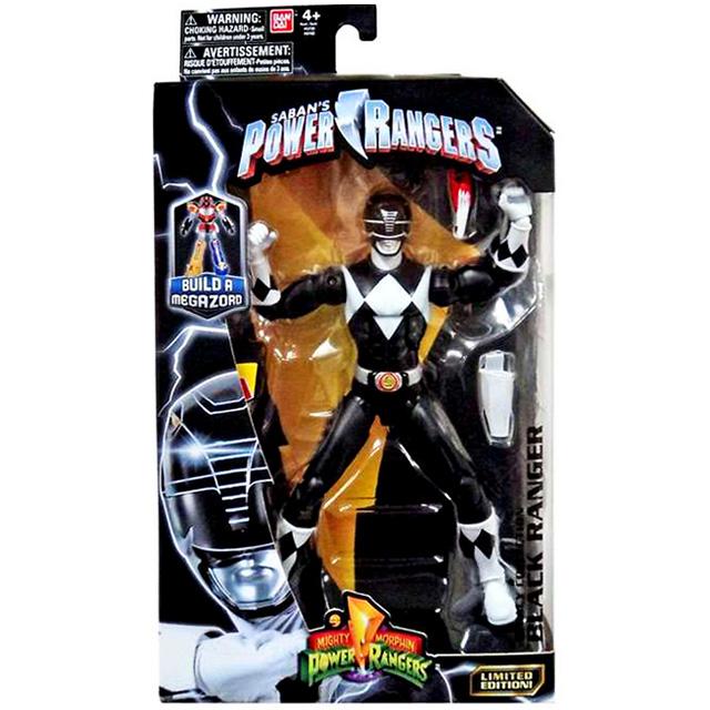 パワーレンジャー マイティモーフィン レガシーコレクション 6インチ アクションフィギュア ブラックレンジャー