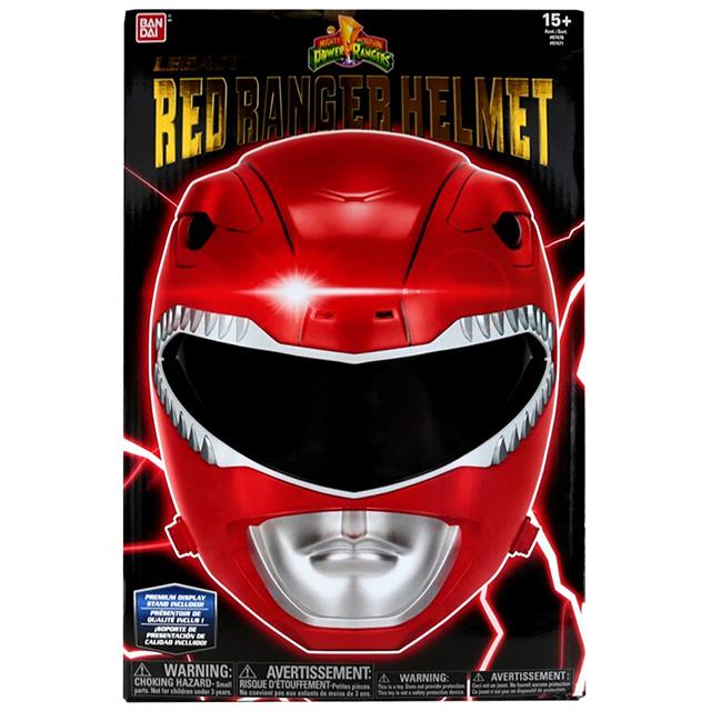 パワーレンジャー マイティモーフィン プロップレプリカ レガシー レッドレンジャー ライフサイズ ヘルメット
