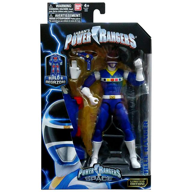 パワーレンジャー インスペース レガシーコレクション 6インチ アクションフィギュア ブルーレンジャー