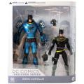DCコレクティブルズ デザイナーシリーズ/グレッグ・カプロ アクションフィギュア 2パック GCPD ポリスアーマー バットマン