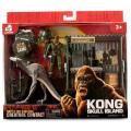 キングコング:髑髏島の巨神 2017 ウォルマート限定 クリーチャーコンタクト フィギュアパック スカルクローラー