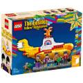 ビートルズ イエローサブマリン 50周年記念 LEGO 21306 レゴ 553ピース イエローサブマリン