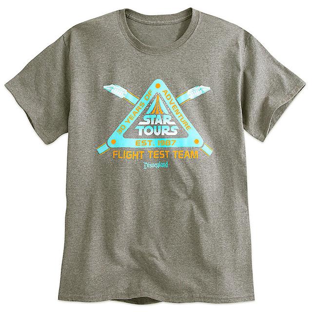 スターウォーズ × ディズニー 2017 USディズニーパーク限定 スターツアーズ 30周年記念 アニバーサリー Tシャツ