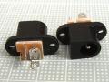 【DCパワージャック】2.1mm:加工用ネジ穴