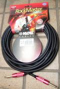 【Rock Master (ロックマスター)マティアス・ヤプス/Matthias Jabs(Scorpions) Signature Cable】 6m(S‐S)