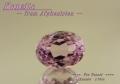 【アクセサリールース】透き通ったピンク色!アフガニスタン産クンツァイトルース1.73ct.オーバルシェイプ8x6mm