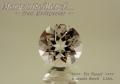 【アクセサリールース】ダイヤのような輝き!!マダガスカル産モルガナイト(ベリル)ルース1.13ct.ラウンドシェイプ7mm