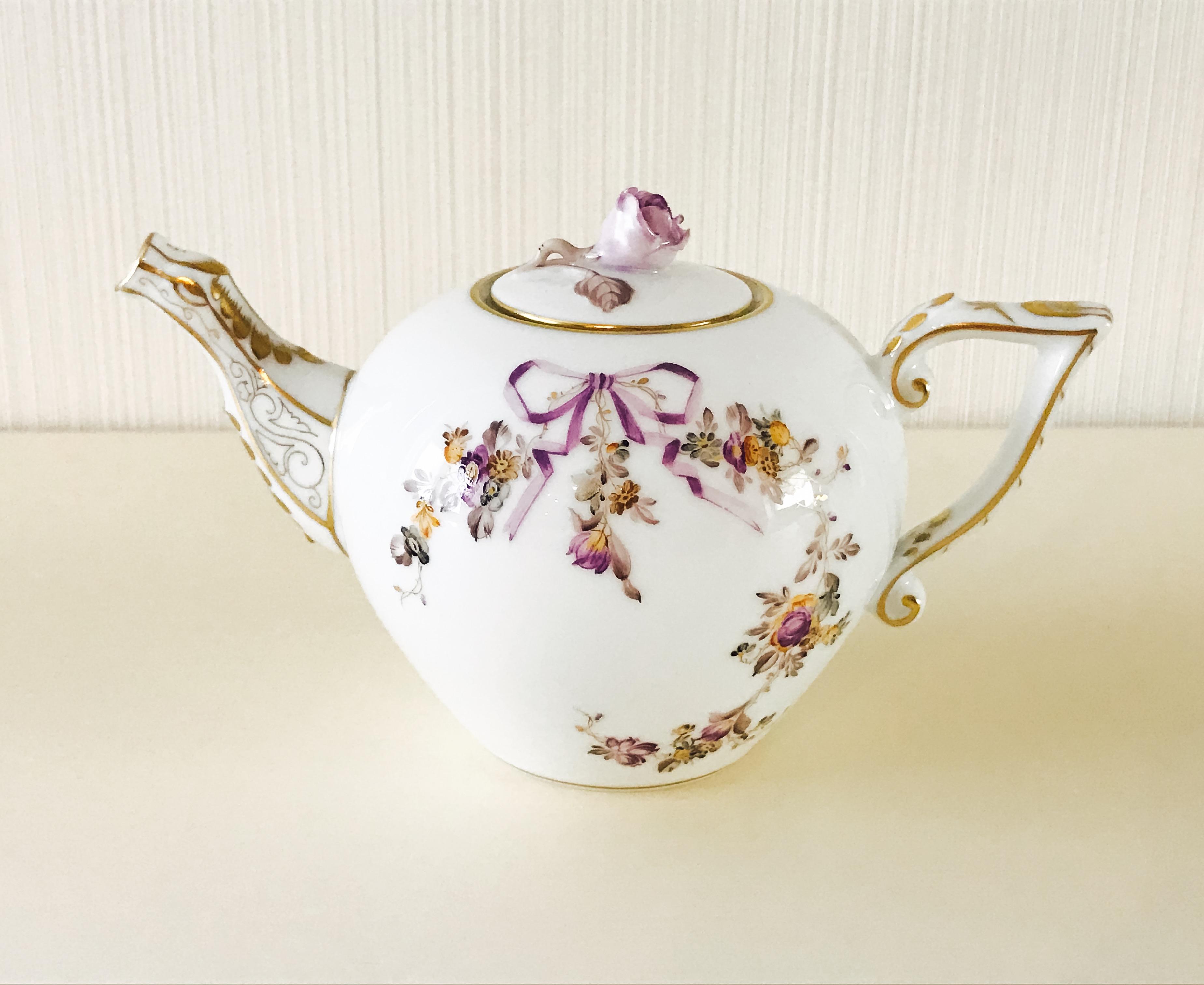 ☆お取り寄せ品☆納品まで3ヶ月前後☆ コロンっと可愛い ヘレンド  EDEN 20608-0-09 エデン TeaPot 400ml