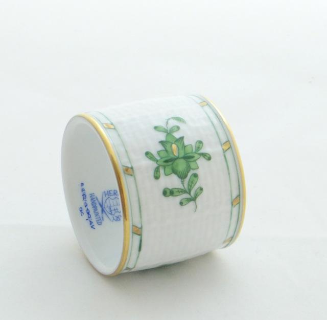 ヘレンド AV 00272-0-00 アポニーグリーン ナプキンリング