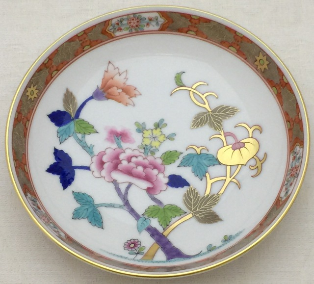 ヘレンド マスターペインター作 SH02704-1-00 上海シリーズ 小皿 約13.5cm