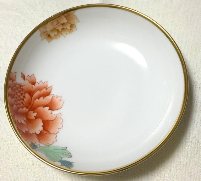 ヘレンド マスターペインター作 PVR02704-1-00 オリエンタルシリーズ 芍薬 小皿 約13.5cm