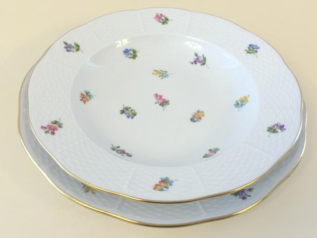 ヘレンド MF 00504-0-00 ミルフルール スーププレート 約23cm *スーププレートのみ。ディナー皿は付きません。