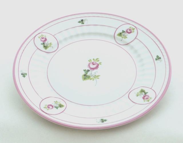 ☆ラスト1点☆ヘレンド VRH-X4 04463-0-00 ウィーンの薔薇ピンク アンピール デザートプレート(19.5cm)