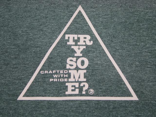 グラフィックロングTシャツ(グレー)